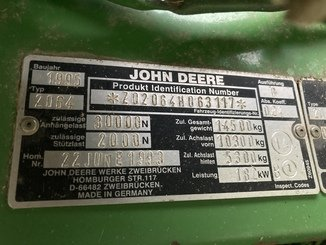 Moissonneuse batteuse John Deere 2064 - 4