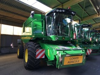 Moissonneuse batteuse John Deere 9640 i WTS - 1