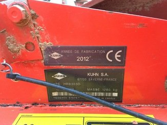 Herse rotative Kuhn HRB 303 - 5