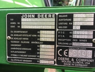 Moissonneuse batteuse John Deere 9640 WTS - 7
