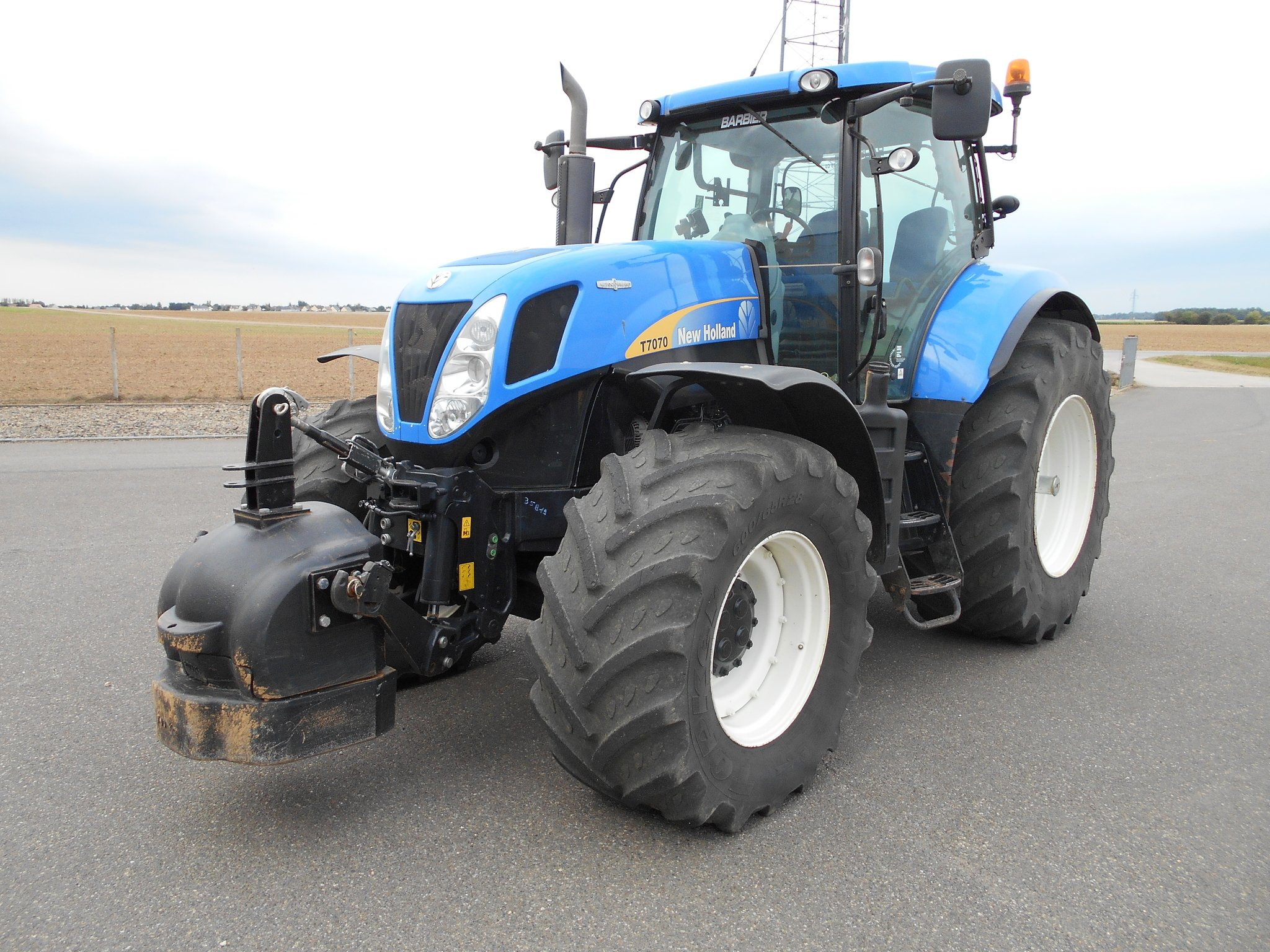 Tracteur agricole New Holland T7070 - 1