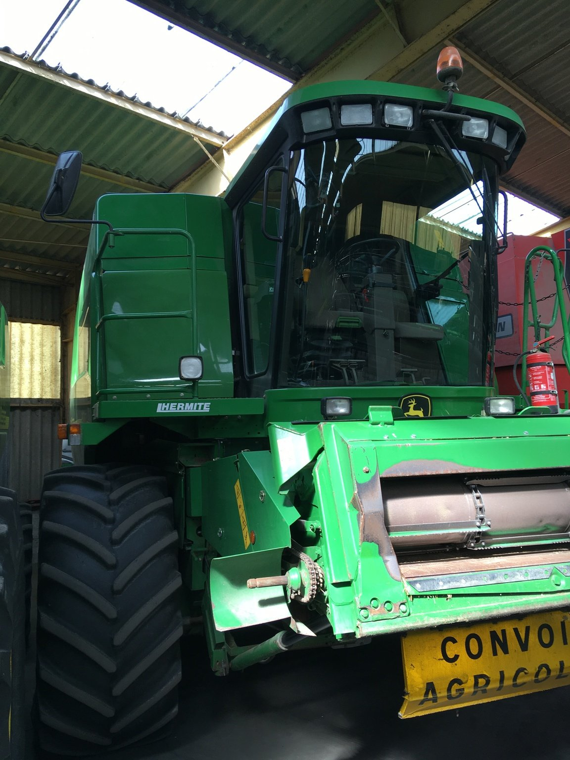 Moissonneuse batteuse John Deere 9640 WTS - 1