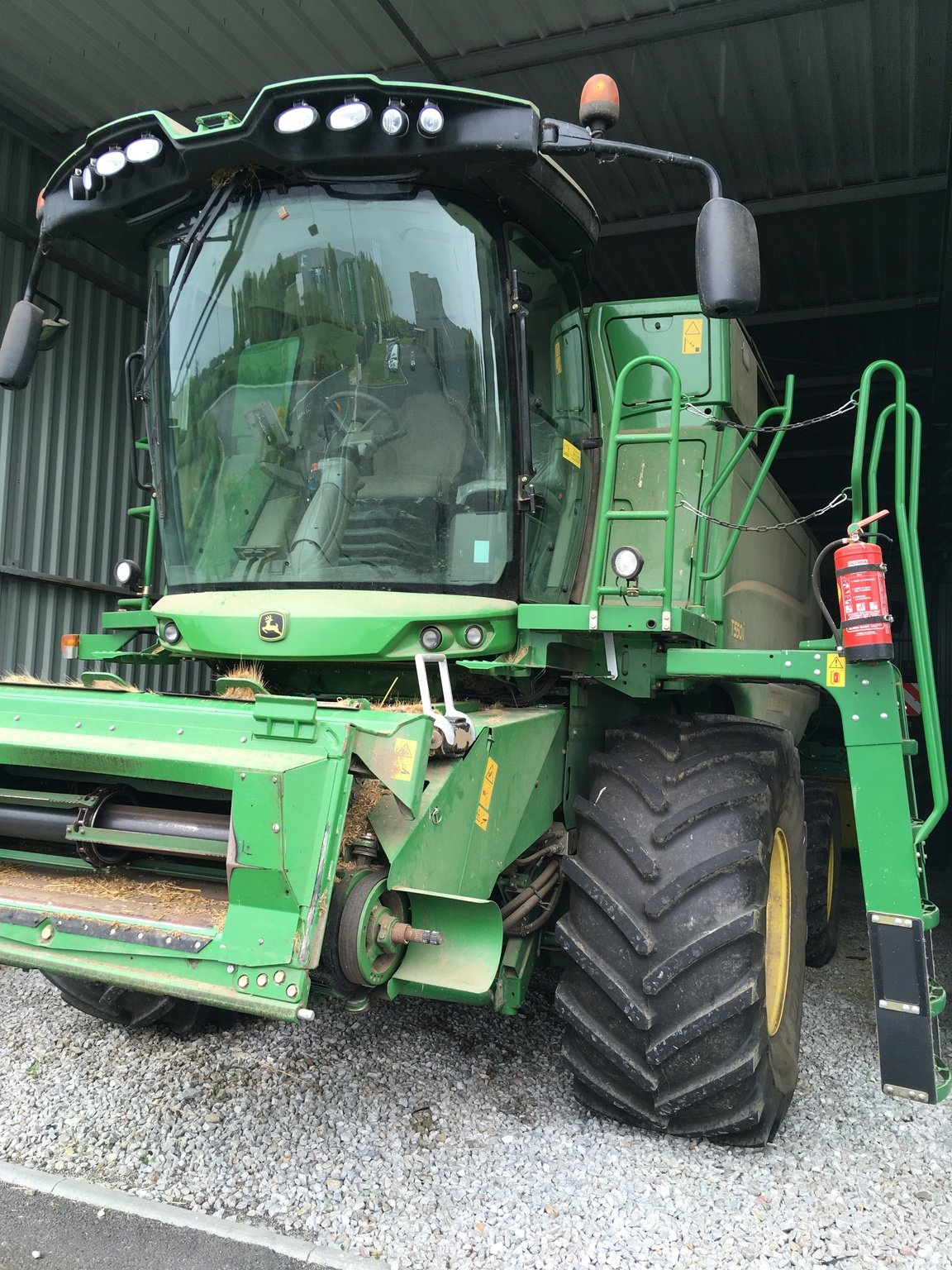 Moissonneuse batteuse John Deere T550 - 1