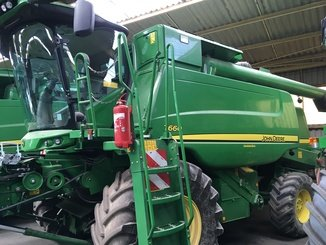 Moissonneuse batteuse John Deere T660 - 2